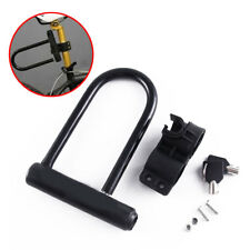 Durable Verrou Vélo SERRURE bicyclette antivol Fort sécurité U Lock Keys FR