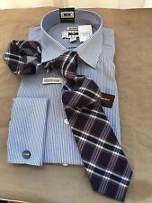 BLACK PURPL 1826 by J. Abboud Men's Wool & Silk Tartan Plaid Tie NWT
