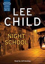 Lee CHILD / (Jack Reacher 21) NIGHT SCHOOL read by Jeff Harding  [ Audiobook ]