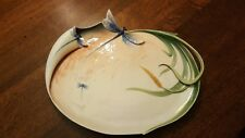 Exquisite Franz Porcelain Dragonfly Platter FZ00172- Mint Condition