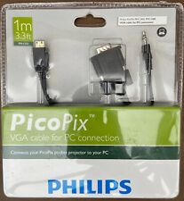 Philips PicoPix mini HDMI to VGA cable for PC Connection PPX 2450 PPX 2480