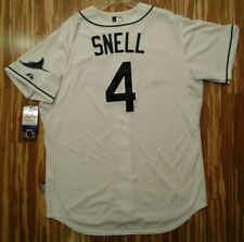 Authentic Blake Snell Jersey 52 - Tampa Bay Rays