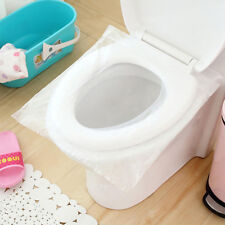 10Pcs/Lot Travel Safety Plastic Disposable Toilet Seat Cover Waterproof Public