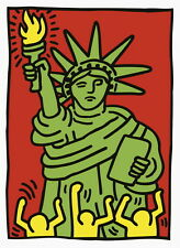 Statue of Liberty (1986), Giclee Print,  Keith Haring