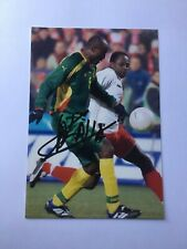 Autogramm RAYMOND KALLA-NS Kamerun-WM 94-Ex-Panachaiki/VfL Bochum/Sivasspor
