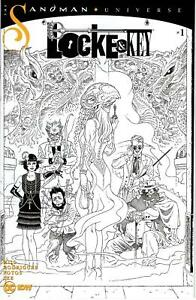 LOCKE & KEY SANDMAN HELL & GONE #1 1:10 VARIANT B/W RODRIGUEZ RETAILER INCENTIVE