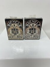 Bicycle Craft Beer Playing Cards Two New Sealed Decks