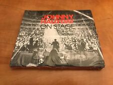 RARE 3CD DELUXE 33T JOHNNY HALLYDAY ON STAGE (NEUF) DIEGO/QUE JE T'AIME/L'ENVIE