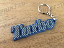 Porte clés / Keychain PVC souple Renault 5 Alpine A5 Turbo logo gris/bleu