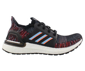 Adidas Ultraboost 19 J Boys Shoes Size 4, Color: Multi/Black
