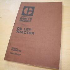 CAT Caterpillar D5 Dozer Crawler Parts Tractor Manual book list 12R Series LPG