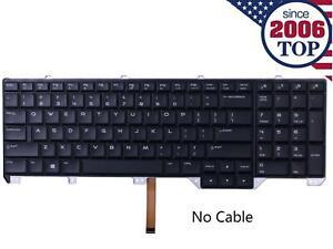 Laptop  Keyboard for ALIENWARE 17 R3 us Backlit Black