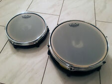 """Alesis 12"""" and 10"""" Mesh Drum Pads (2) Dual Zone DM10 Electronic"""