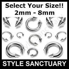 Helix 00g (10 mm) Thickness Gauge Body Piercing Jewellery