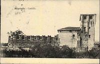 Moncrivello Region Piemont Italien s/w Postkarte ~1910 gelaufen Castello Burg