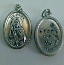 SAINT JUDE THADDEUS MEDAL Patron of lost causes Catholic pendant Made in Italy