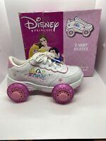 Disney Princess 2 Way Skates Convertible From Shoes To Skates Youth Size 3