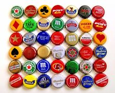 42 X BEER bottle caps COLOMBIA and SPAIN - S1