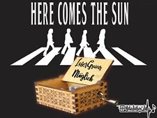 The Beatles - Here comes the sun Spieluhr Musicbox Neu Fanartikel