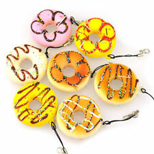 Cell phone Keychain Squishy Chain Gift New Lovely Straps Kawaii Donuts Charms