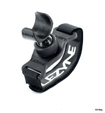 Accessoire Vélo - LEZYNE Helmet Mount - Support casque Lampe Micro Macro - Noir