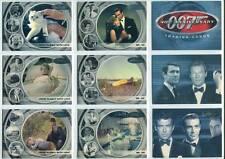 James Bond 40th Anniversary Complete 60 Card Set  2002