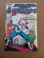 Marvel Comics Presents 19 .Cyclops / 1st App . Damage Control . Marvel 1989 . VF