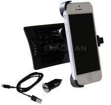 iPhone 5 5s SE Auto KFZ Halterung Lüftungsgitter Lüftung Handy Halter Ladekabel