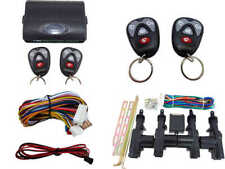 High Quality Car Alarm Remote & Full Set Central Locking Kit 4 Doors (2)