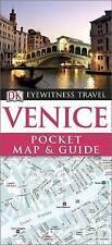 VENICE DK Eyewitness Pocket Map And Guide Venice. New