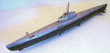 Type XXI U-Boats Elektroboote Submarines Model Replica Small Free Shipping