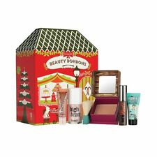 Benefit Cosmetics BEAUTY BONBONS 5 Piece Set ~ New in Tin ~ DELIGHTFUL BEAUTY