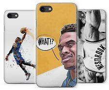 Russell Westbrook Basketball MVP Art En Caoutchouc étui pour téléPhone