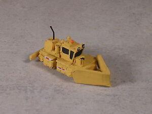 N Scale MofW Yellow Yard Snow Plow Machine