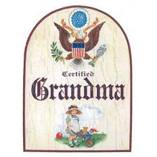 Grandma Türschild