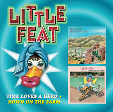Time Loves a Hero/Down on the Farm by Little Feat (CD, Mar-2012, 2 Discs, Edsel