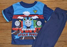 Thomas the Tank  Engine & Friends Short Sleeve Pajama Sleepwear Set Size 3T
