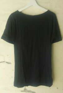 Eres Black T-SHIRT or Swimsuit Cover made in France
