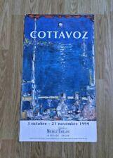 "Poster Original Exhibition André Cottavoz Gallery 1999 23.5"" x 13-3/8"""