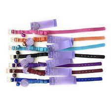 "Whisker City 10"" Cat Collar Bow Tie 7 Pcs Lot Black Blue Pink Purple Orange New"