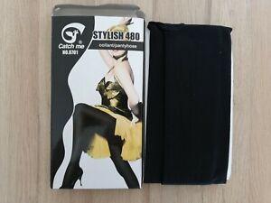 Collants opaques Femme 480 deniers épais noir taille M neuf confort chaleur