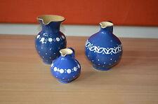 Original Kohren  Keramik Töpferei  3 Stück Gefäße, Vasen