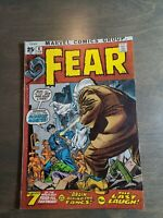 Fear #6  Marvel Comics (1972) FN-VG Kirby ~ Steve Ditko ~  Heck Horror 68 pages