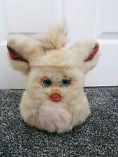 Vintage Original Funky Furby 2005 Brick Cream & Pink Colour Rare blue eyes tiger