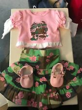 american girl doll camo hawaii outfit in perfect condition!
