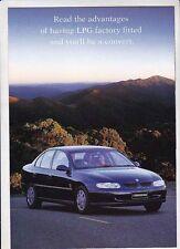1997-98 HOLDEN VT COMMODORE 4p LPG Brochure ECOTEC V6