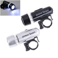 Bicycle Front Light LED Head Front Bike Light Safety Headlight Warning Lamp FT