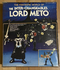 Vintage & Collectible-HOURTOY TAKARA INTER-CHANGEABLES MICRONAUTS LORD METO 8403