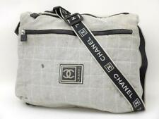 Chanel Quilted Sports Logo Cc Messenger 235610