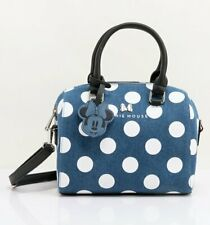 Loungefly Disney Minnie Mouse Denim Crossbody Bag - NEW!